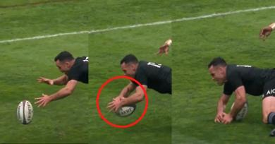 VIDÉO. All Blacks : Ryan Crotty a-t-il vraiment aplati pour son essai face aux Springboks ?
