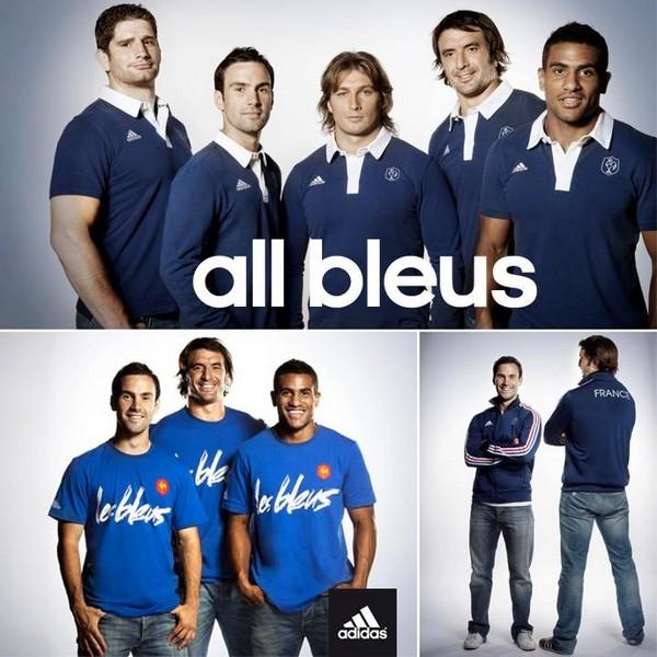 Adidas dévoile un peu plus sa collection XV de France