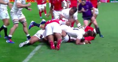 Avec un doublé, Tuilagi lance l'Angleterre dans la compétition [Vidéo]