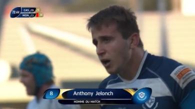 VIDEO. Champions Cup - Castres. Anthony Jelonch crève l'écran face à Montpellier