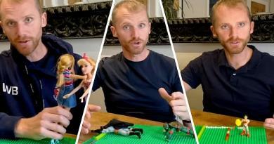 Expliquer le raffut avec des Barbies, le double mouvement avec Batman, Barnes nous régale [VIDEO]