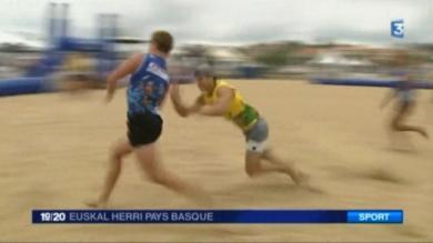 VIDEO. Succès populaire du Beach Rugby Festival à Anglet