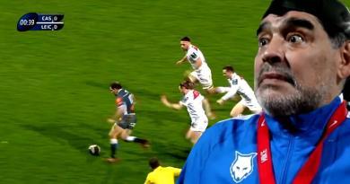 VIDEO. Champions Cup - Castres. Benjamin Urdapilleta se la joue Maradona face à Leicester