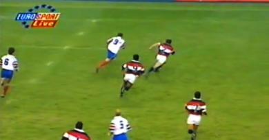 Instant #NOSTALGIE - QuandBernat-Salles se baladait sur les terrains de rugby à 7en 1997