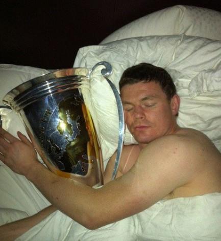 O'Driscoll dort avec la Coupe d'Europe