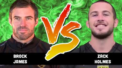 Top 14 - Demi-finale. Brock James vs Zack Holmes...qui prendriez-vous dans votre équipe ?