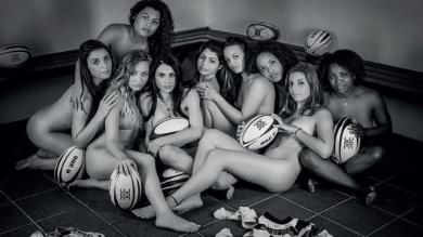 Le calendrier sexy des Féminines de l'ESRC