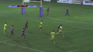 VIDEO. Challenge Cup - Victoire au forceps mais bonus offensif pour Grenoble face à Rovigo