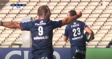 Champions Cup. En 10 minutes, Dweba et Ducuing envoient Bordeaux pour la première fois en 1/4 de finale [VIDÉO]