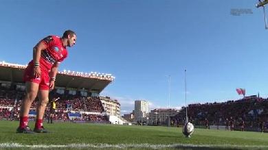 VIDEO. Champions Cup. Fréderic Michalak fait un retour fracassant avec le RCT face aux Wasps