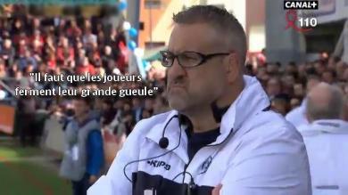 VIDÉO. Top 14 - Castres. Christophe Urios allume les joueurs du Stade Français