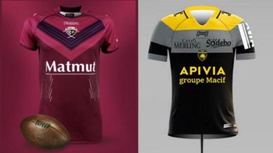 PHOTOS. Le TOP 10 des plus beaux maillots du Top 14, saison 2017/2018