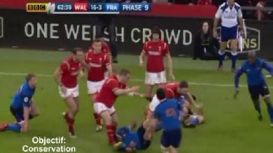 VIDEO. Le rugby pour les nuls - Leçon 15 : comment contre-attaquer au niveau du premier rideau défensif ?