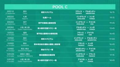 Coupe du monde 2019 - Le calendrier du XV de France au Japon