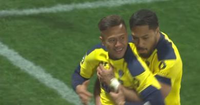 Coupe du monde - Le groupe des Samoa avec Nanai-Williams, Fa'asalele et Alo-Emile