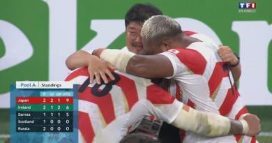 Les clés de la superbe victoire du Japon sur l'Irlande à la Coupe du monde [INFOGRAPHIE]