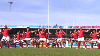 RESUME VIDEO. Coupe du monde. Les Tonga dominent la Namibie dans une rencontre à 8 essais