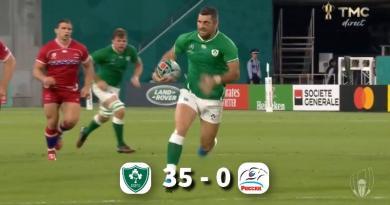 Coupe du monde - L'Irlande se remet (un peu) la tête à l'endroit contre une Russie courageuse