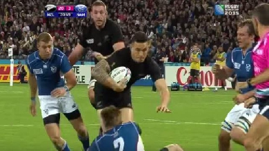 VIDEO. Le JT du Rugbynistère, épisode 1 - Sonny Bill Williams, facteur X des All Blacks ?