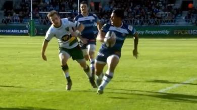 VIDEO. Champions Cup - Castres. David Smith met le feu à la défense de Northampton