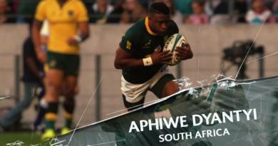 Afrique du Sud - Aphiwe Dyantyi risque 4 ans de suspension pour dopage