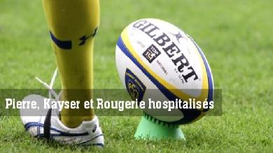 Des joueurs de l'ASM agressés à Millau. Pierre, Rougerie et Kayser hospitalisés