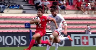 Champions Cup - Dupont a plus avancé ballon en main que toute l'équipe des Saracens