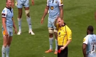 Dylan Hartley expulsé en finale de Premiership... pour avoir insulté l'arbitre