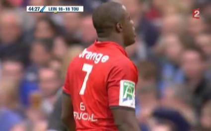Essai casquette et tirage de maillot pour Toulouse vs Leinster