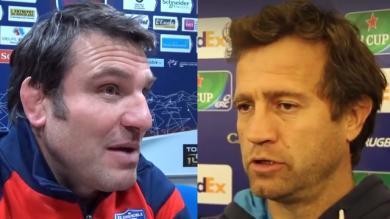 Top 14 - Fabien Galthié et Fabrice Landreau plus que jamais en route vers Toulon