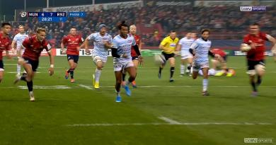 Champions Cup - Face au Munster, l'audace du Racing 92 a bien failli payer [RESUME VIDEO]