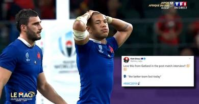 La cruelle défaite du XV de France en quart de finale vue par les réseaux sociaux