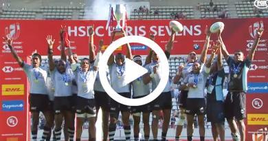 Rugby à 7 – Intouchables, les Fidjiens remportent le Paris Sevens et les World Series ! [VIDÉO]