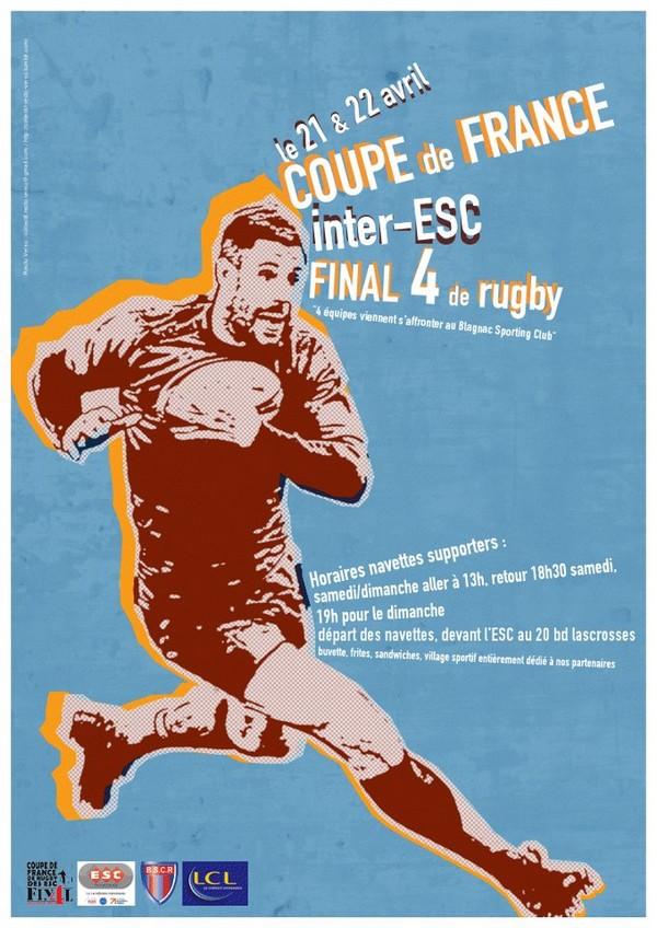 Finale de la coupe de France des ESC à Blagnac
