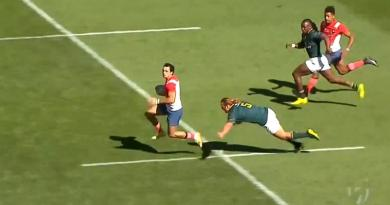 VIDEO. Cape Town 7s - France 7 s'offre un essai de 100m face aux Blitzboks