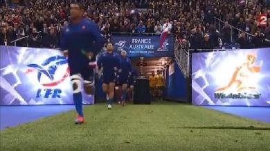 L'Australie au menu du XV de France en novembre 2016