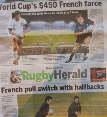 Nouvelle-Zélande : « La farce Francaise à 450 dollars »