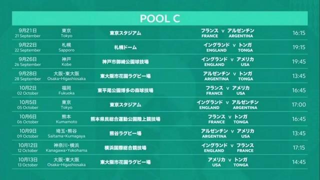 Calendrier Coupe D Europe Rugby 2020.Coupe Du Monde 2019 Le Calendrier Du Xv De France Au Japon