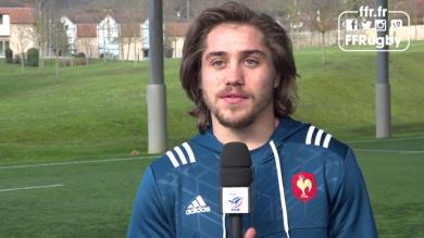 """VIDÉO. 6 Nations - XV de France. Gabriel Lacroix : """"je ne m'attendais pas du tout à être appelé"""""""