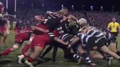VIDEO. Premiership : George Kruis accusé d'avoir mordu un adversaire, lui aussi cité pour une fourchette