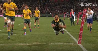 Rugby Championship - Herschel Jantjies crucifie les Wallabies en filou [VIDÉO]