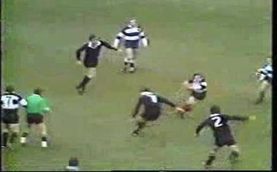 Hommage à Gareth Edwards, the best player who ever played the game of rugby.