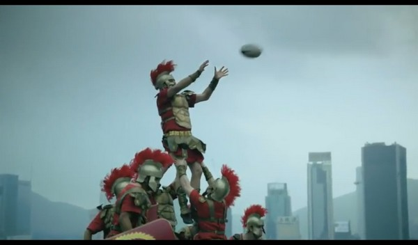 Des Soldats romains et des Samouraïs s'affrontent au Rugby (Hong Kong Seven)