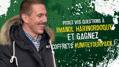 Jeu Concours : Posez vos questions à Imanol Harinordoquy ! #UniteYourPack