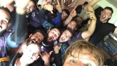 Fédérale 2 : la belle histoire du selfie de l'US Issoire après la victoire à Lévézou