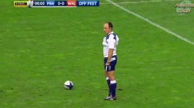 Arbitrage : Les Ministres du Rugby reviennent sur deux cas d'arbitrage du match France vs Pays de Galles
