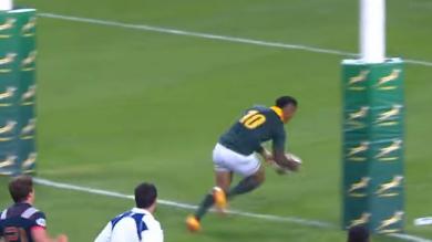 RESUME VIDEO. Test-match : les essais du 2e match entre la France et l'Afrique du Sud