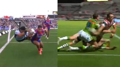 VIDEO. Le rugby à XIII nous offre deux passes venues d'un autre monde