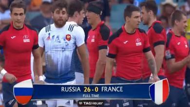 """France 7 - Sydney 7s. Jean-Baptiste Gobelet : """"perdre de cette façon face aux Russes ça reste en travers de la gorge"""""""
