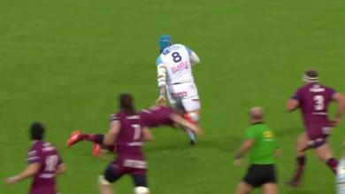 Vidéo. Top 14 : Pour son retour, Jean Monribot a mystifié la défense de l'UBB